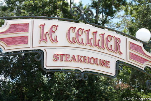 Le Cellier Menu: Epcot - Disney Dining Information - Cellier Cuisine