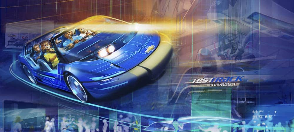 New Test Track
