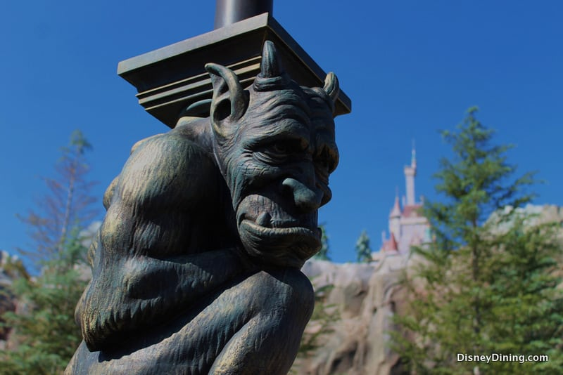 Be Our Guest Gargoyle