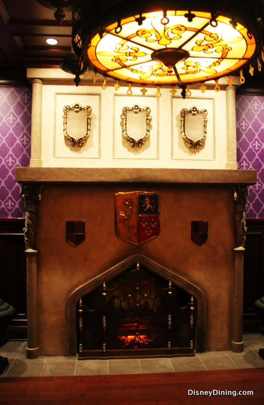 Be our Guest Fireplace