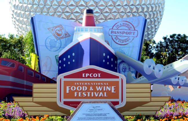 EPCOT food and wine passport