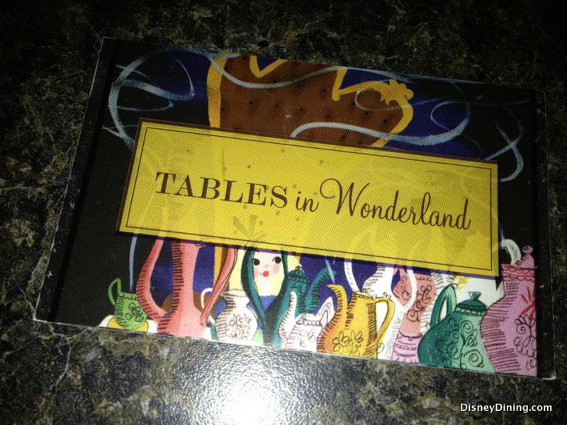 Tables in Wonderland Card Photo