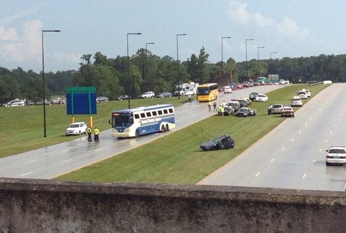 Disney Bus Car Crash Viewer At Epcot