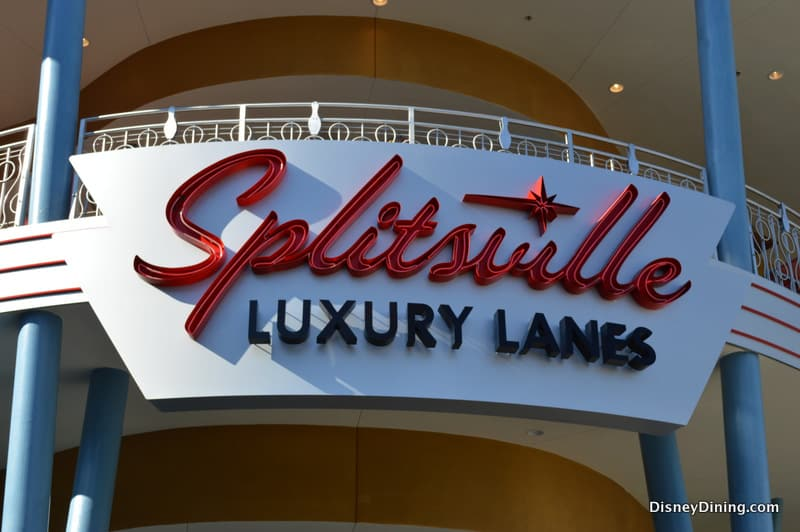 Splitsville Sign Downtown Disney