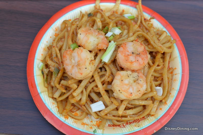 Black Pepper Shrimp with Sichuan Noodles – DisneyDining