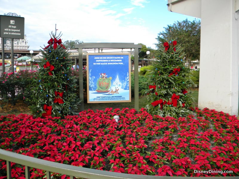 19 Invitation to Mickeys Very Merry Christmas Party entrance to