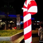 20. Giant Candy Cane Treat Location Marker, MVMCP 2013, Tomorrowland, Magic Kingdom, Walt Disney World