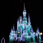 31. Cinderella Castle, Icicle Lights, MVMCP 2013, Magic Kingdom, Walt Disney World