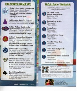 Mickey's Very Merry Christmas Party 2013 event map, part 2