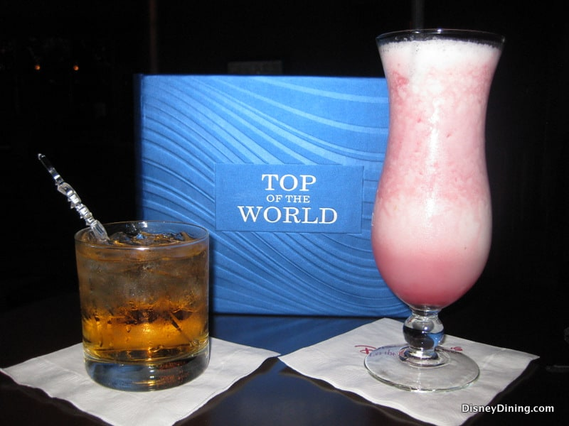 Top Of The World Lounge Bay Lake Tower Disney Dining