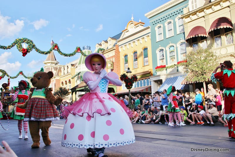 Bo Peep, Christmas Parade, Magic Kingdom, walt Disney World ...