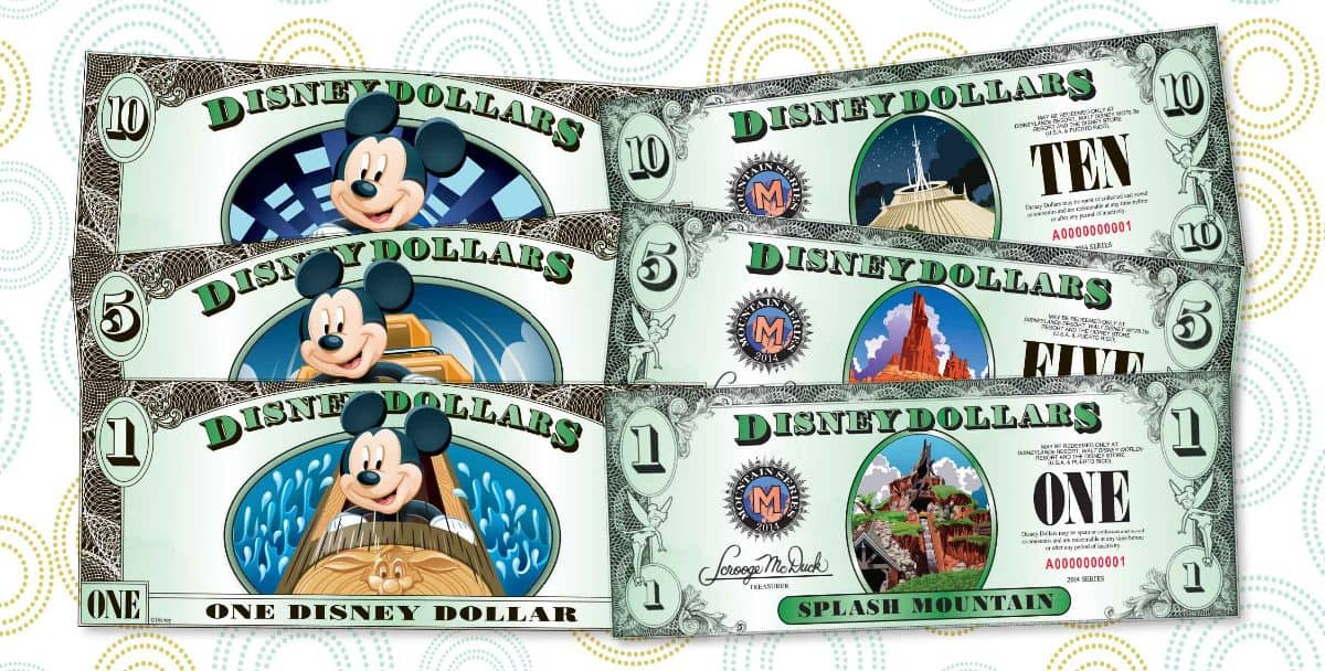 New Disney Dollars Series Released