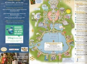Holidays Around the World 2013 map and back