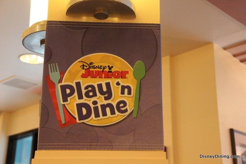Hollywood Vine Disney Junior Play N Dine Breakfast