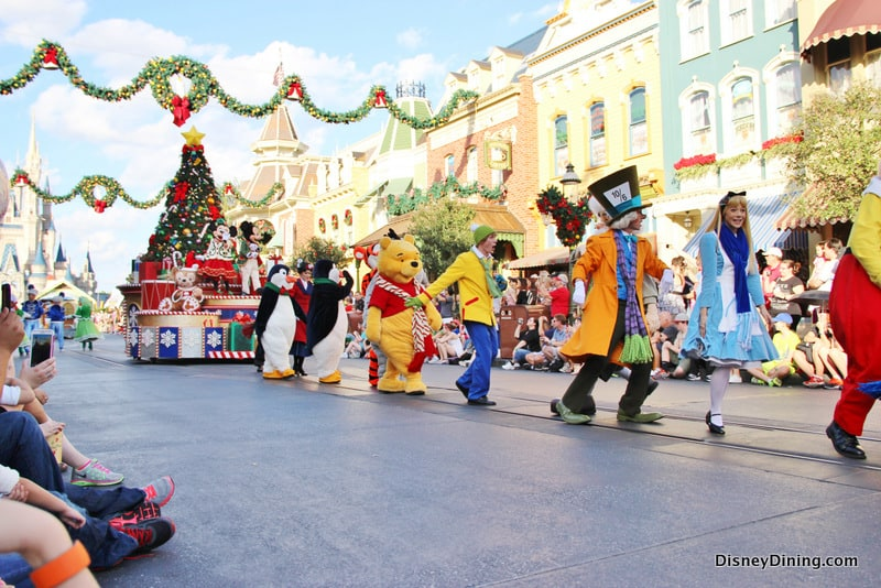 Storybook characters, 2013 Christmas parade, Magic Kingdom, Walt ...