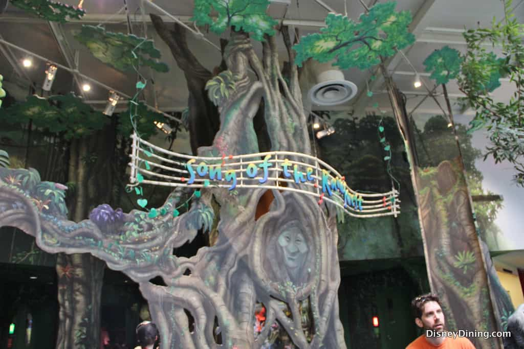 Closest Station To Rainforest Cafe