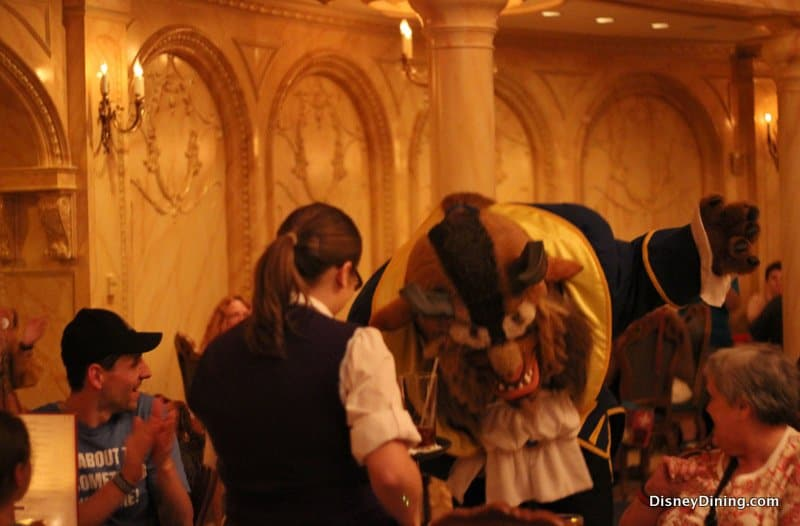 Disney Dining Be Our Guest Restaurant Review Dinner