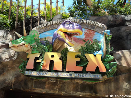 Disney dining review of t rex at downtown disney disney for Disney dining plan t rex