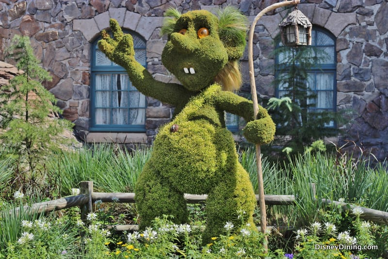 troll topiary norway 2014 epcot international flower and