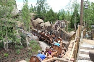 7 dwarfs mine ride, new fantasyland, magic kingdom,walt disney world,  26