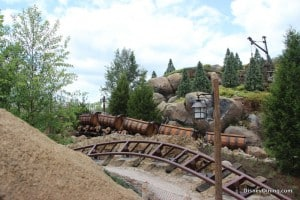 7 dwarfs mine ride, new fantasyland, magic kingdom,walt disney world,  32