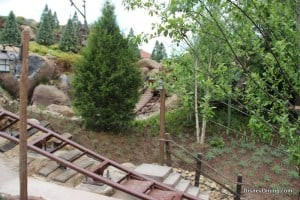 7 dwarfs mine ride, new fantasyland, magic kingdom,walt disney world,  37