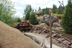 7 dwarfs mine ride, new fantasyland, magic kingdom,walt disney world,  40