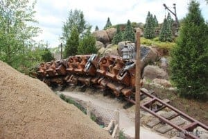 7 dwarfs mine ride, new fantasyland, magic kingdom,walt disney world,  42