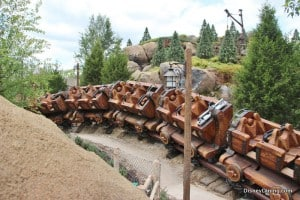 7 dwarfs mine ride, new fantasyland, magic kingdom,walt disney world,  43