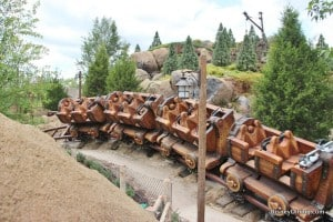 7 dwarfs mine ride, new fantasyland, magic kingdom,walt disney world,  44