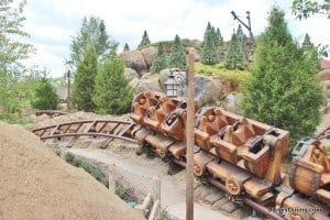 7 dwarfs mine ride, new fantasyland, magic kingdom,walt disney world,  45