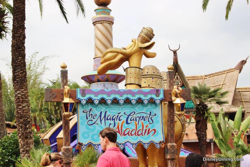 Magic Carpets Of Aladdin Spitting Camel Adventureland