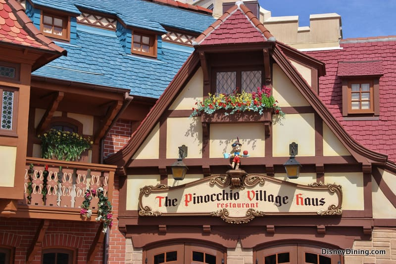 Review And New Menu At Pinocchio Village Haus Fantasyland