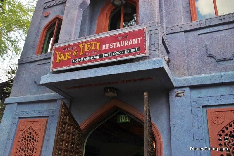Disney Dining Review: Yak & Yeti Restaurant - Disney ...