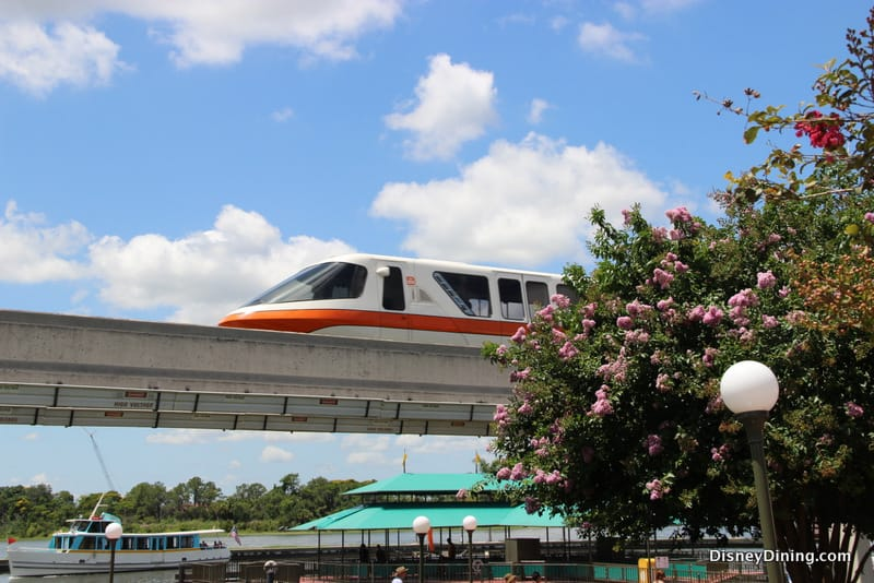 Walt Disney World Monorail Routes Changing for May - Disney Dining ...