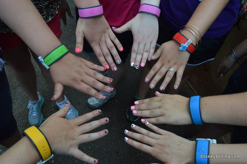 Hollywood Studios Tower of Terror MagicBands Group 4