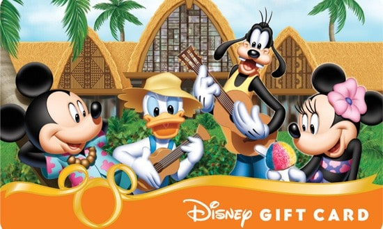 Disney Now Offering eGift Cards Able to be Used at Walt Disney ...