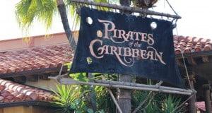 Pirates of the Caribbean attraction sign, Magic Kingdom, Walt Disney World (2)