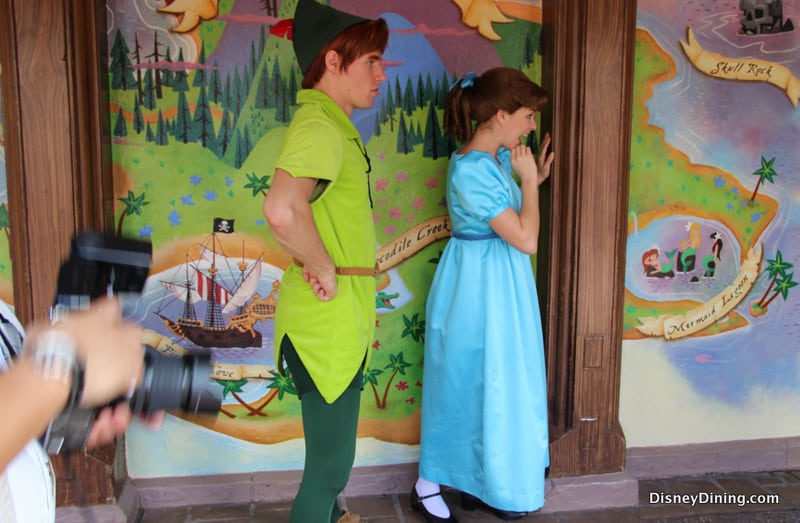 ... Map, Peter Pan's Flight, Fantasyland, magic kingdom, walt disney world