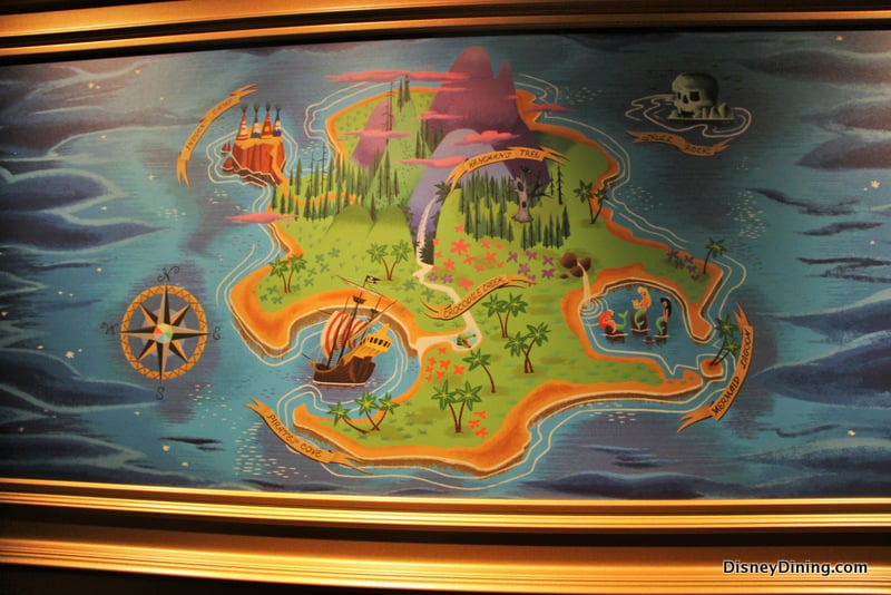9 Map Of Neverland Picture In Queue Peter Pans Flight