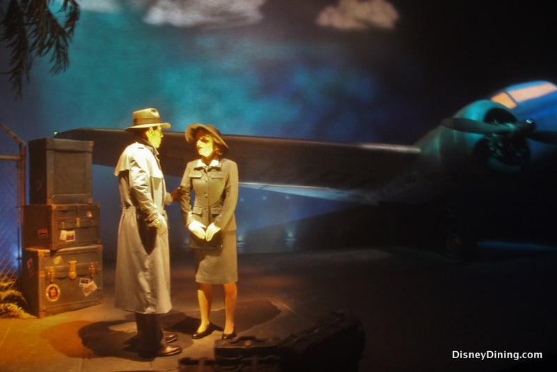 Casablanca final scene,  Great Movie Ride, Disney's Hollywood Studios, Walt Disney World