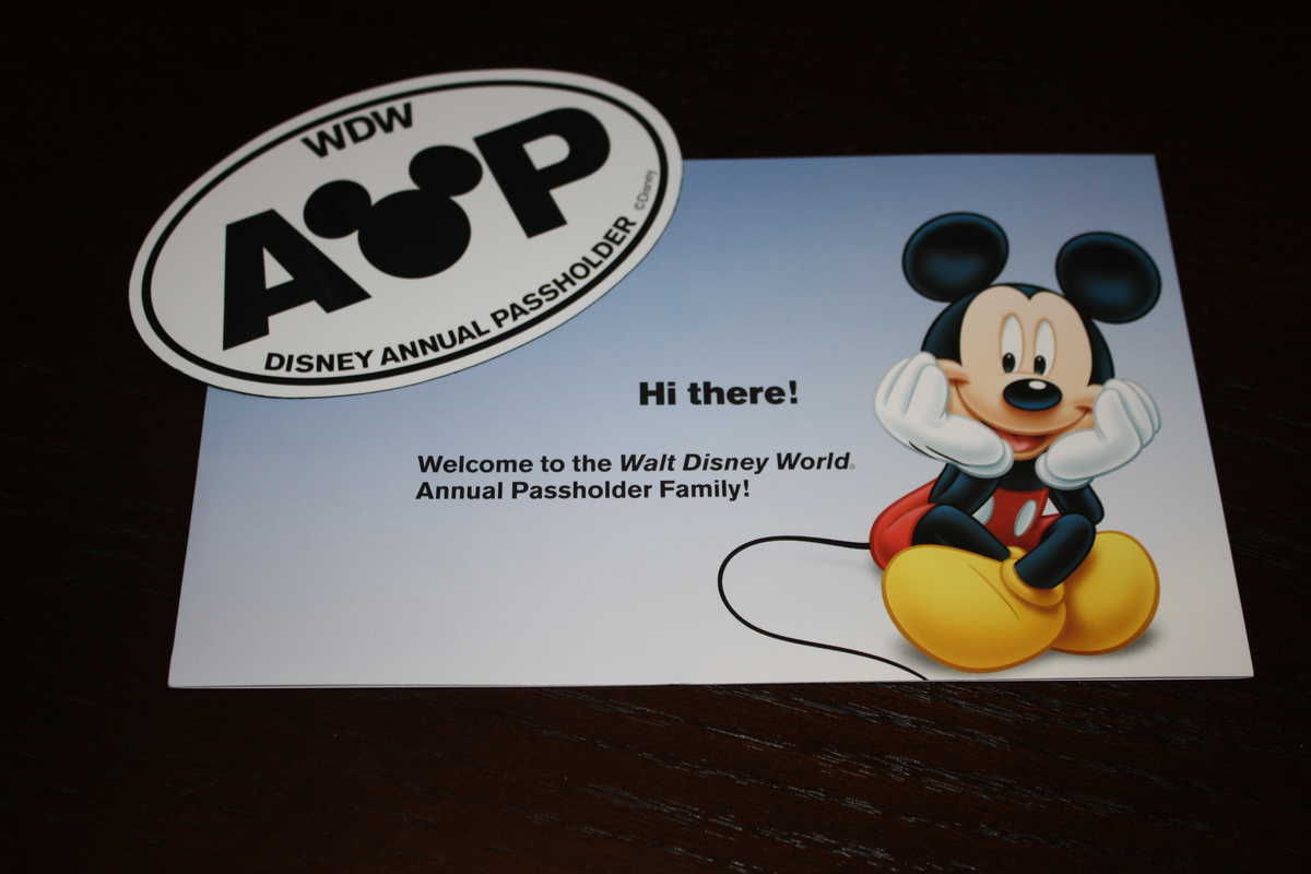The owners of the Walt Disney World Resort reserve the right to revoke the Walt Disney World Annual Pass if it is presented for admission by anyone other than the Passholder of record or if the Passholder violates the policies of the Walt Disney World Resort.