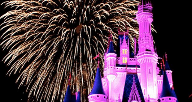 Castle Fireworks 1