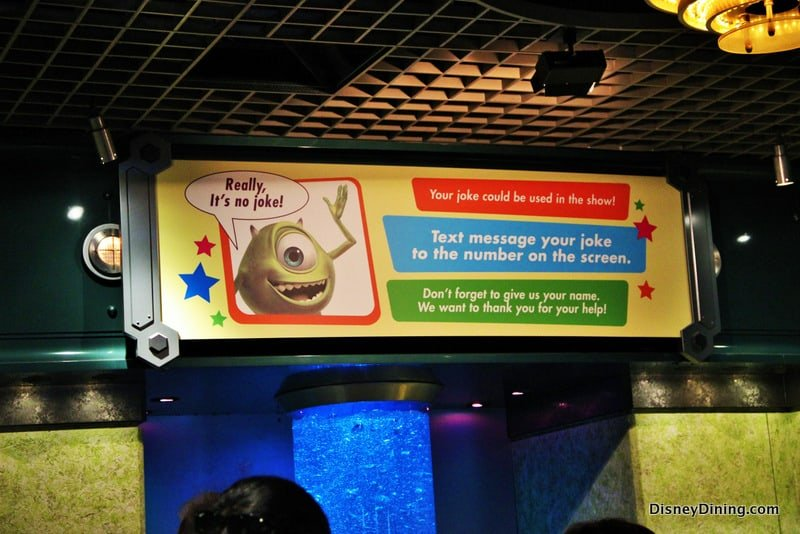 monsters inc queue signage, monsters