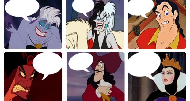 which disney character said it quiz villain edition