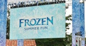 frozen summer fun banner, hollywood studios, walt disney world-001