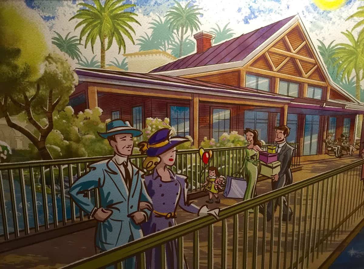 Disney springs completion date