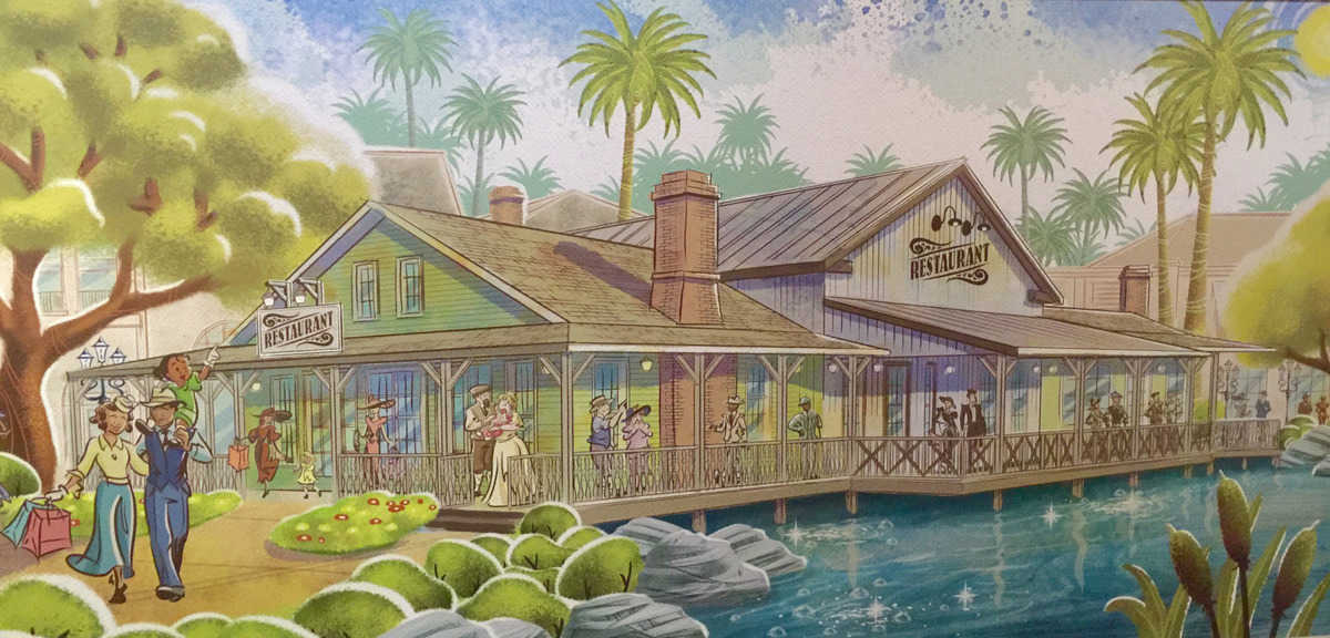 New Concept Art For Disney Springs Looks Awesome Disney