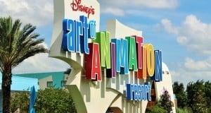 resort sign, Disney's Art of Animation Resort, Walt Disney World