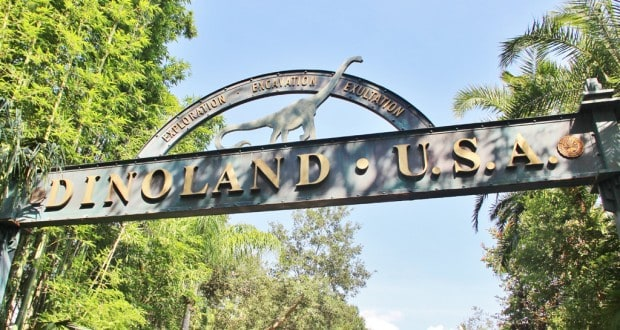 1. entrance to Dinoland U.S.A., animal kingdom, walt disney world